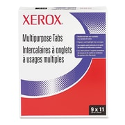 Xerox® Collated Index Dividers, 90-lb. Index Stock, White, 11 x 9, 5-Tab, 250/Box (3R4416)