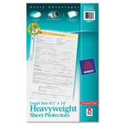 Avery® Heavyweight and Super Heavyweight Easy Load Sheet Protector, Clear, 25/Pack (73897)