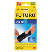 "FUTURO™ Energizing Wrist Support, Right Hand;Wrist Size 5 1/2""- 6 3/4"", Black, Each (48400EN)"