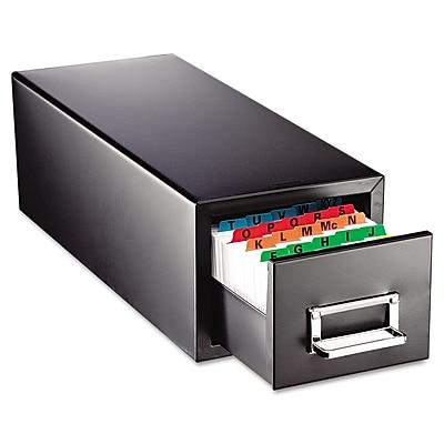 SteelMaster® Drawer Card Cabinet, 3