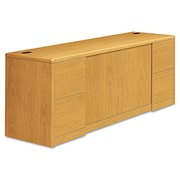 HON® 10700 Series™ Credenza with Doors, Woodgrain Laminate, Harvest (10742CC)