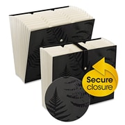 Smead® Secure Expanding File, Black, Letter, Each (70776)