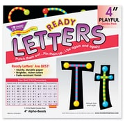TREND® Ready Letters® Alpha-Beads Letter Combo Pack, Letters, Numbers & Symbols-Paper, Each (T79755MP)