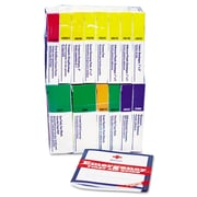 First Aid Only™ ANSI Compliant First Aid Kit Refill for 16 Unit First Aid Kit, 98-Pieces (740016)