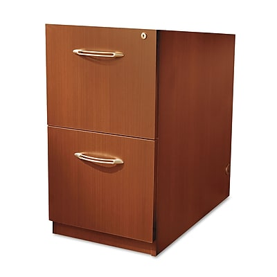 Mayline Aberdeen Series 2 Drawer Mobile/Pedestal File, Cherry,Letter/Legal, 15.25''W (AFF20LCR)