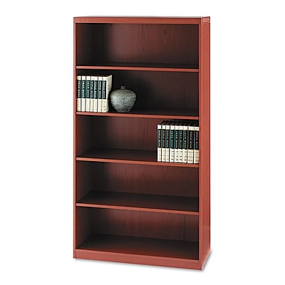Mayline® Aberdeen® Series Five-Shelf Bookcase, 5-Shelves, 68 3/4