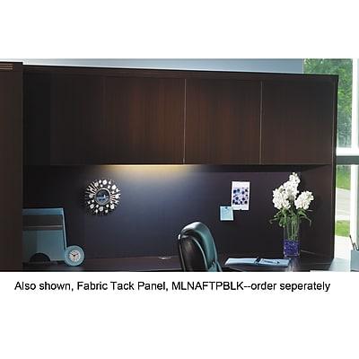 Mayline® Aberdeen® Series Wood Door Hutch, Thermally Fused Laminate, Mocha (AHW72LDC)