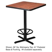 "Mayline®, Hospitality Table ""X"" Pedestal Base, 41"" High, Black (CA41B2025)"