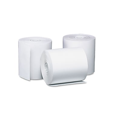 PM Company® White Direct Thermal Printing Cash Register/POS Rolls