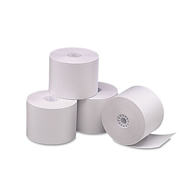 PM Company® Direct Thermal Printing Cash Register/POS Roll, White, 2 1/4