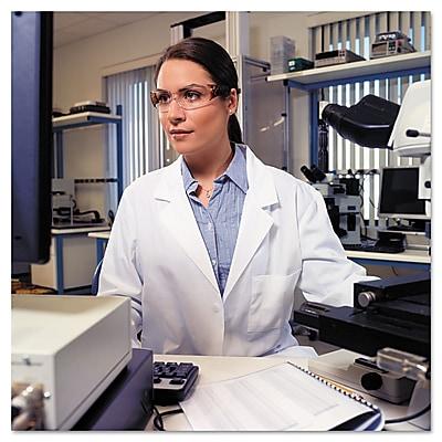 Uvex™ by Honeywell Women's Safety Glasses, Hardcoat Anti-Scratch, Tortoise Shell, 10/Box (W300)