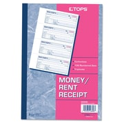 TOPS™ Money and Rent Receipt Books, 7 1/8 x 2 3/4, Each (46808)