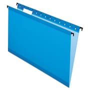 Pendaflex® SureHook® Hanging Folders, Blue, Legal, 20/Box (6153 1/5 BLU)