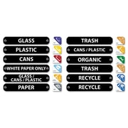 Rubbermaid® Commercial Recycle Label Kit, Each (1792975)