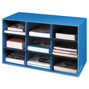"Bankers Box® Classroom Cubby, 28 1/4"" x 13"" x 16"", Blue, 4/Carton (FEL3380701)"