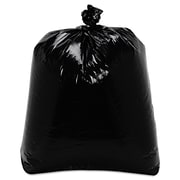 Trinity Packaging Low-Density Can Liners Trash Bags, 0.7 mil Thickness, Black, 16 gal, 500/Carton (TRN ML2432)