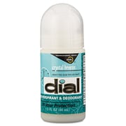Dial® Anti-Perspirant Deodorant, Crystal Breeze, 1.5 oz Roll-On Bottle, 48/Carton (DIA 07686)