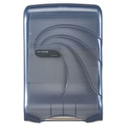 San Jamar® Large Capacity Ultrafold™ Towel Dispenser, Transparent Arctic Blue, Each (T1790TBL)