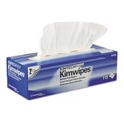 "Kimtech* KIMWIPES* Delicate Task Wiper, 11 4/5"" x 11 4/5"", Unscented, 1785/Carton (34705)"
