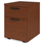 HON® 10500 Series™ Mobile Pedestal File, 2 Drawer(s), Henna Cherry, Legal; Letter (H105106.JJ)