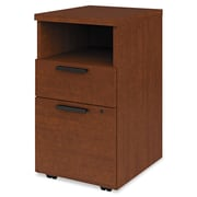HON® 10500 Series™ Mobile Pedestal File, 2 Drawer(s), Henna Cherry, Legal; Letter (H105109.JJ)