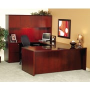Mayline® Luminary Series Wood Veneer Credenza Shell, 72w x 20d x 29h, Cherry (CR2072C)