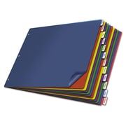 Cardinal Poly Insertable Dividers, Poly, Multicolor, 11 x 17, 12-Tab, Each (84804)