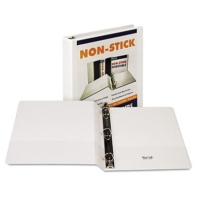 Samsill® Nonstick D-Ring View Binder, 8 1/2 x 11, View, Each (16430)