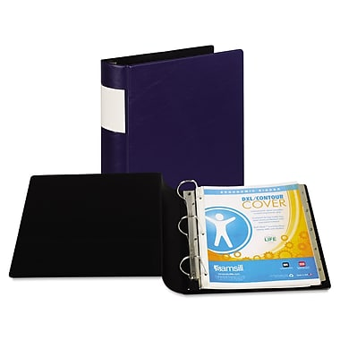 Samsill® DXL™ Heavy-Duty Locking D-Ring Binder with Label Holder, 8 1/2 x 11, Non-View, Each (17662)