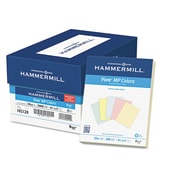 Hammermill Recycled Colored Paper, 8 1/2 x 11, Assorted, 500/Ream (10212-0)