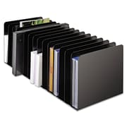 SteelMaster®, Message Rack, 15-Compartment, Steel, 6 1/4 x 16 1/10 x 6 1/2, Black, Each (26715MRVBK)