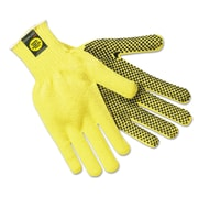 Memphis™ Kevlar® Gloves 9366L, Large, Pair, Yellow/Black, 1/Dozen (127-9366L)