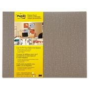 """Post-it Cut-to-Fit Display Board, Mocha, 18"""" X 23"""" (558F-MCH)"""