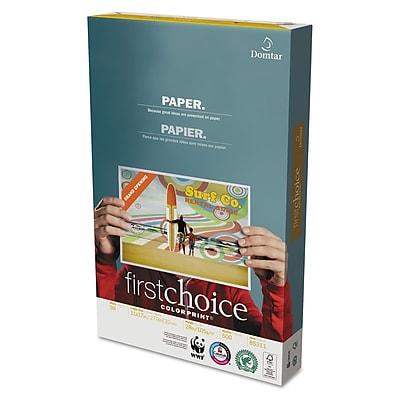 Domtar® First Choice™ ColorPrint Premium Paper, LEDGER-Size, 98/110+ US/Euro Brightness, 28 Lb., 11