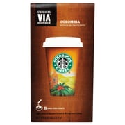 Starbucks® VIA™ Ready Brew Coffee, Columbia, 0.12 oz, 8/Box (11009529)