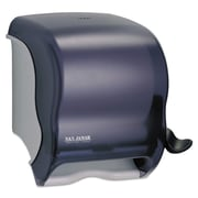 San Jamar® Element™ Lever Roll Towel Dispenser, Transparent Black Pearl, Each (SAN T950TBK)