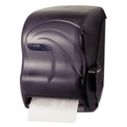 San Jamar® Lever Roll Towel Dispenser , Transparent Black Pearl , Each (T1190TBK)