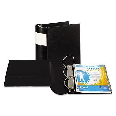 Samsill® DXL™ Heavy-Duty Locking D-Ring Binder with Label Holder, 8 1/2 x 11, Non-View, Each (17600)
