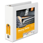Wilson Jones® Heavy-Duty Round Ring View Binder with Extra-Durable Hinge, 8 1/2 x 11, View, Each (W363-49WAPP1)