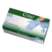 Curad® Nitrile Exam Gloves, Blue, Large, 150/Box (CUR9316)
