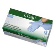 Curad® Nitrile Exam Gloves, Blue, Small, 150/Box (CUR9314)