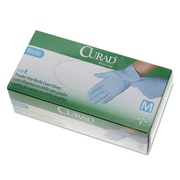 Curad® Nitrile Exam Gloves, Blue, Medium, 150/Box (CUR9315)