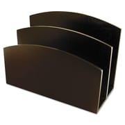 Artistic®, Eco-Friendly Bamboo Curves Letter Sorter, 7 1/8 x 3 1/4 x 5 1/8, Espresso, Each (ART11003C)