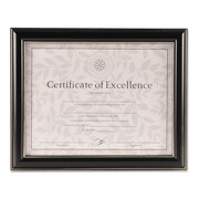 DAX Office Solutions Document Frame, Plastic, 8 1/2 x 11, Black, Each (N2704N1T)