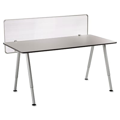 Iceberg, OfficeWorks Freestyle Table Privacy Panel, 57w x 1d x 20h, Clear (68901)