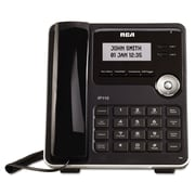 RCA® ViSYS™ Business Class VoIP Phone System and Service, Black (IP110S)