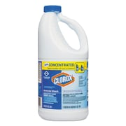Clorox® Concentrated Germicidal Bleach, Regular, 64 oz, 8/Carton (10044600310098)