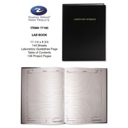 Roaring Spring® Lab Research Notebook, Black, 8 3/4 x 11 1/4, Each (77160)