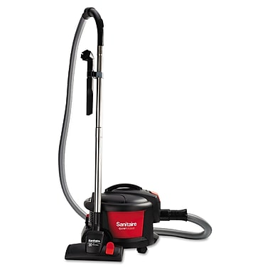 electrolux sanitaire quiet clean canister vacuum redblack sc3700a - Electrolux Canister Vacuum