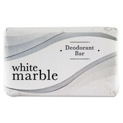 White Marble Guest Amenities Deodorant Soap, Pleasant, 200/Carton (DIA 00197)
